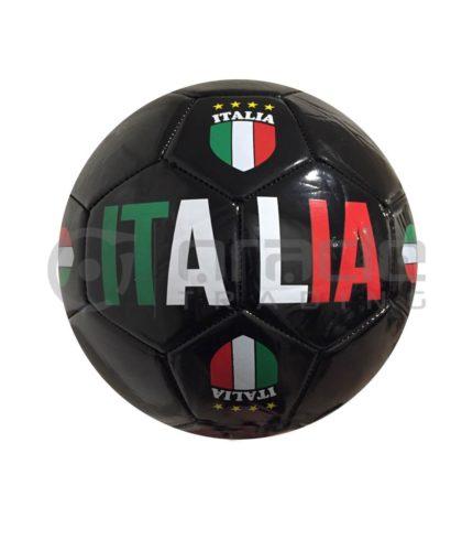 Italia Large Soccer Ball - Black