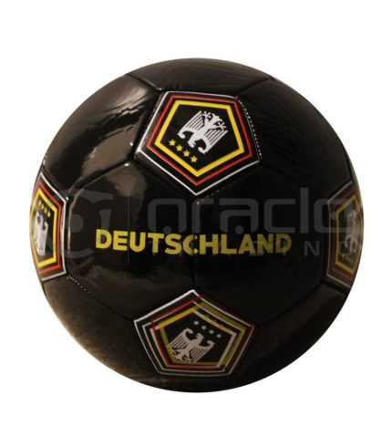 Germany Large Soccer Ball - Black
