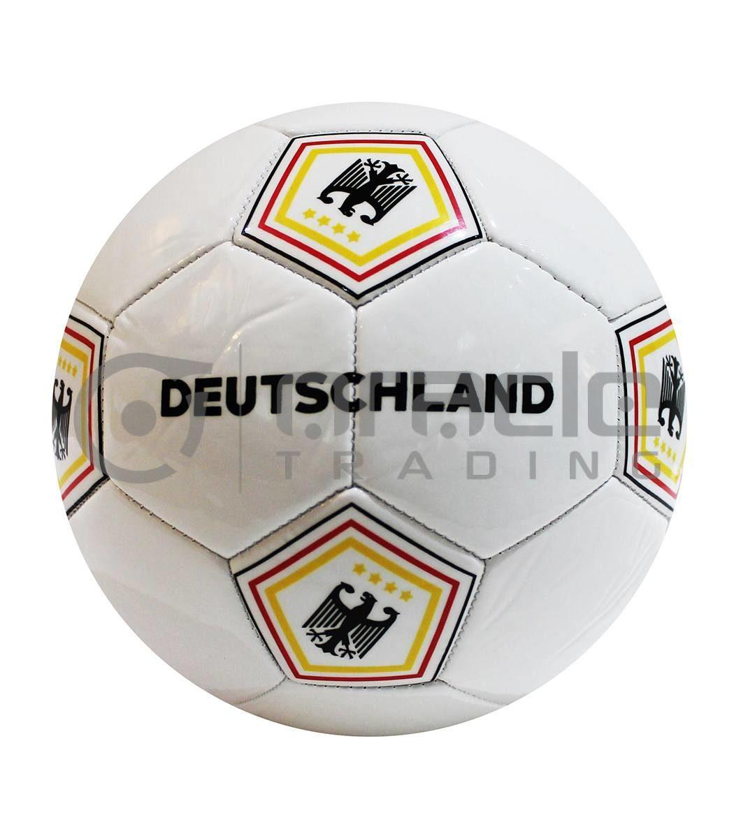 Germany Large Soccer Ball - White