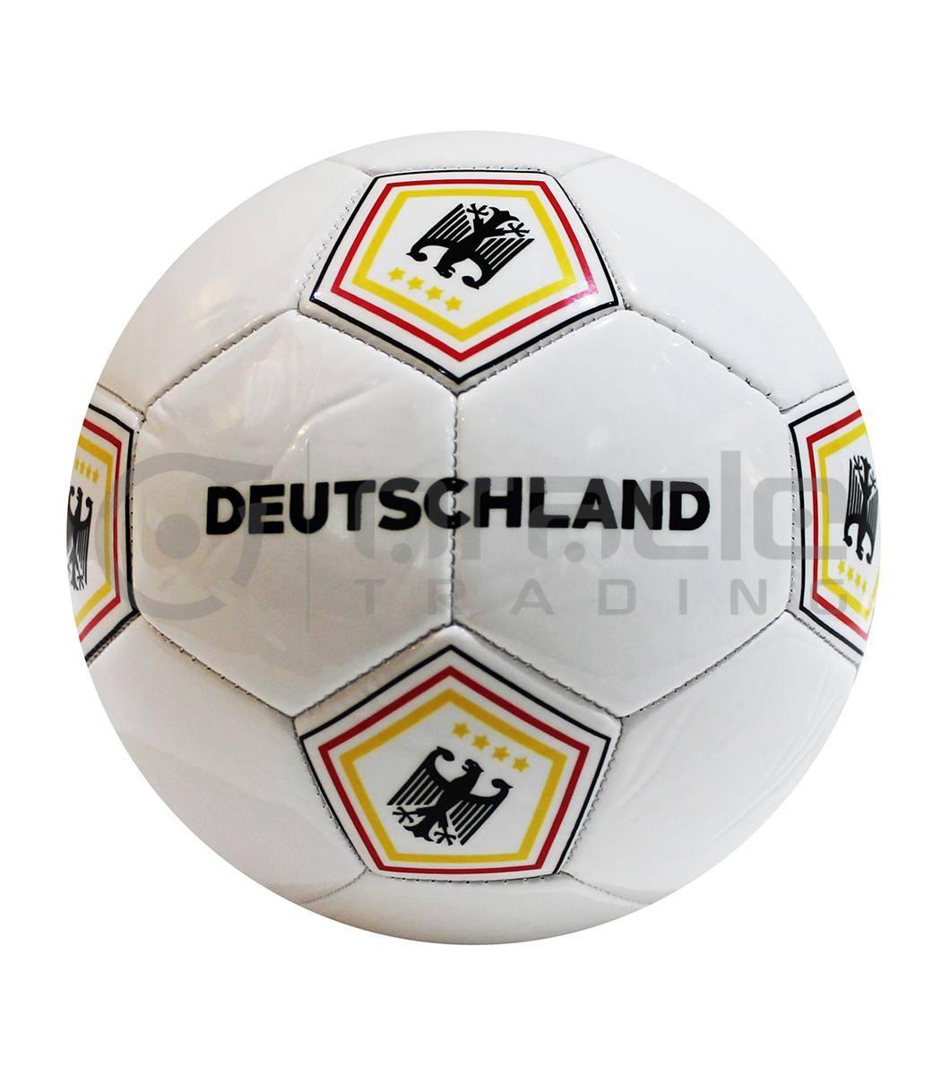 Germany Large Soccer Ball - White