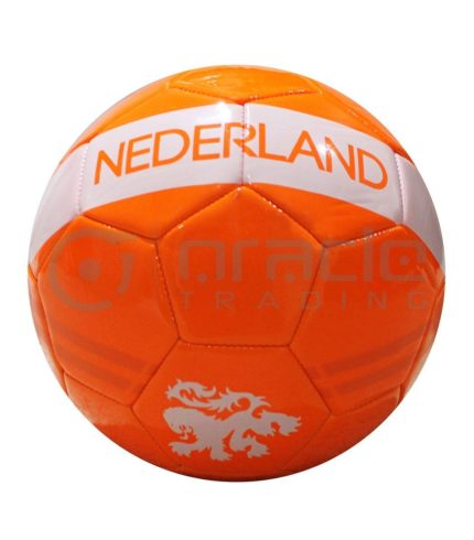 Holland Large Soccer Ball - Orange