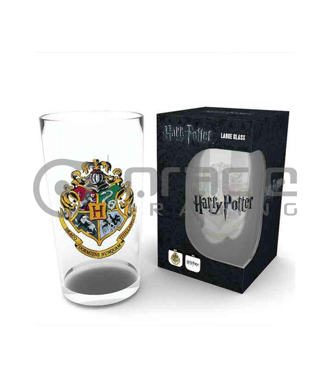 Harry Potter Hogwarts Large Glass