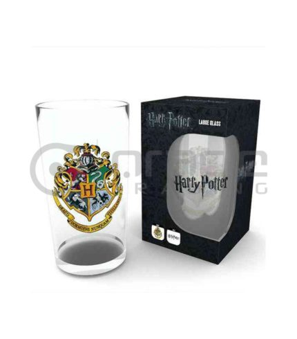 Harry Potter Hogwarts Large Glass