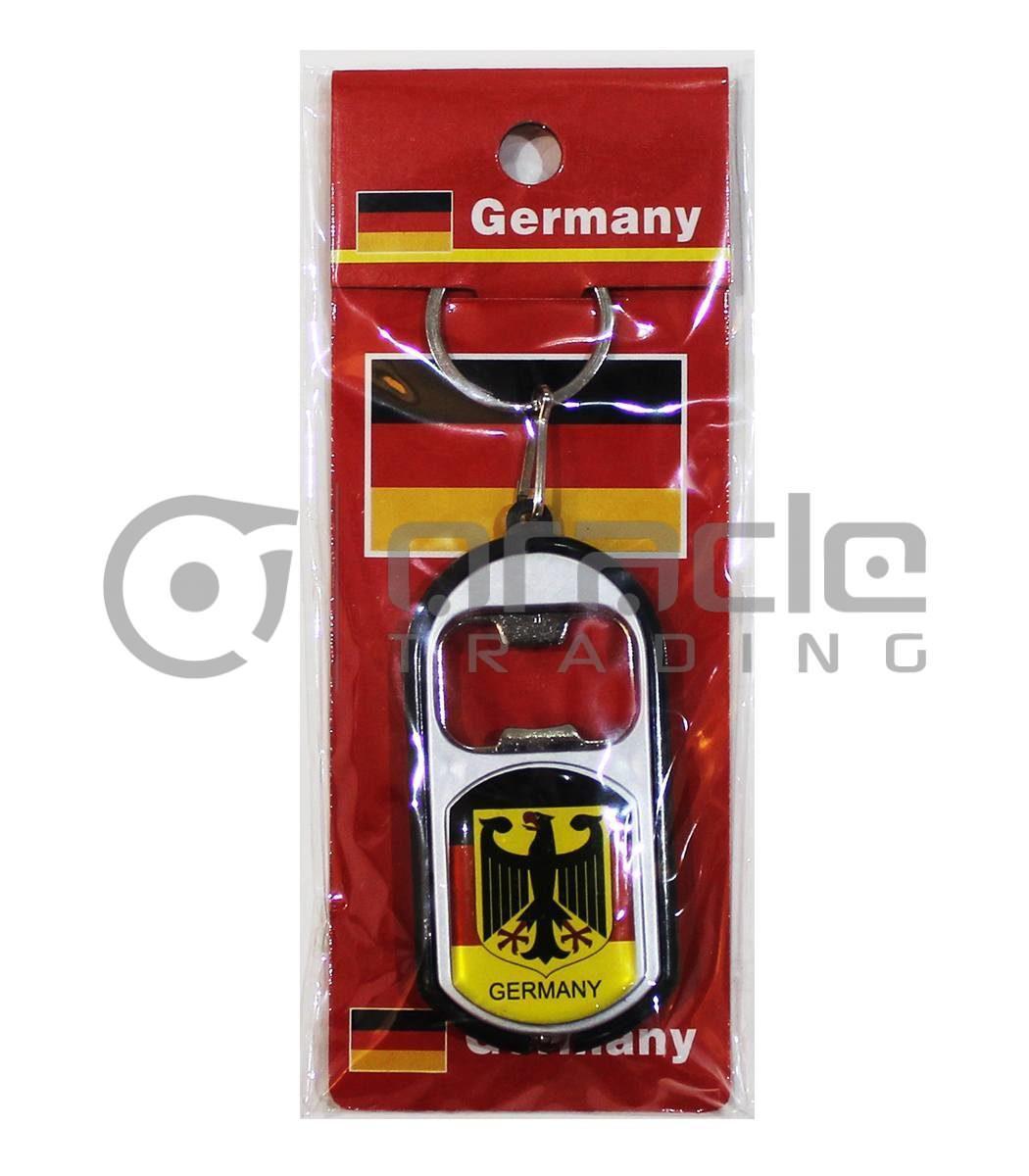 Germany Flashlight Bottle Opener Keychain 12-Pack