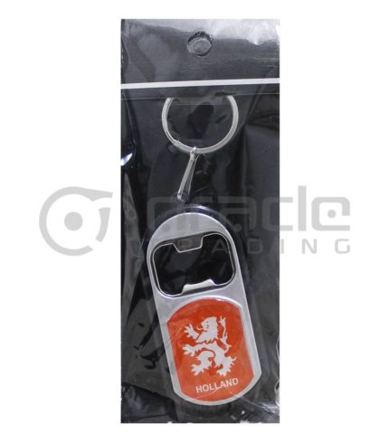 Holland Flashlight Bottle Opener Keychain 12-Pack