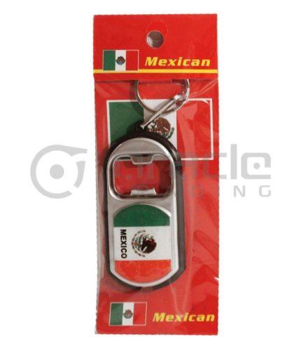 Mexico Flashlight Bottle Opener Keychain 12-Pack