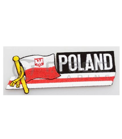 Poland Long Iron-on Patch