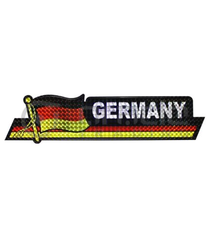 Germany Long Bumper Sticker