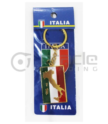 Italia Map Keychain 12-Pack
