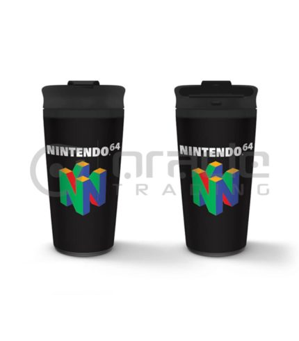 Nintendo N64 Metal Travel Mug