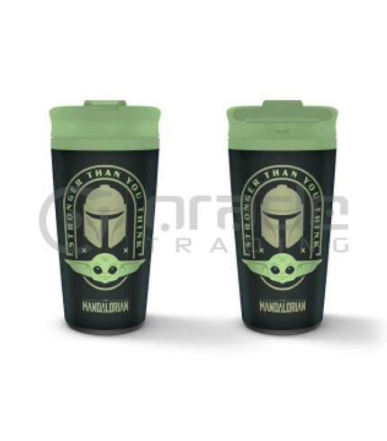 Star Wars: The Mandalorian Metal Travel Mug