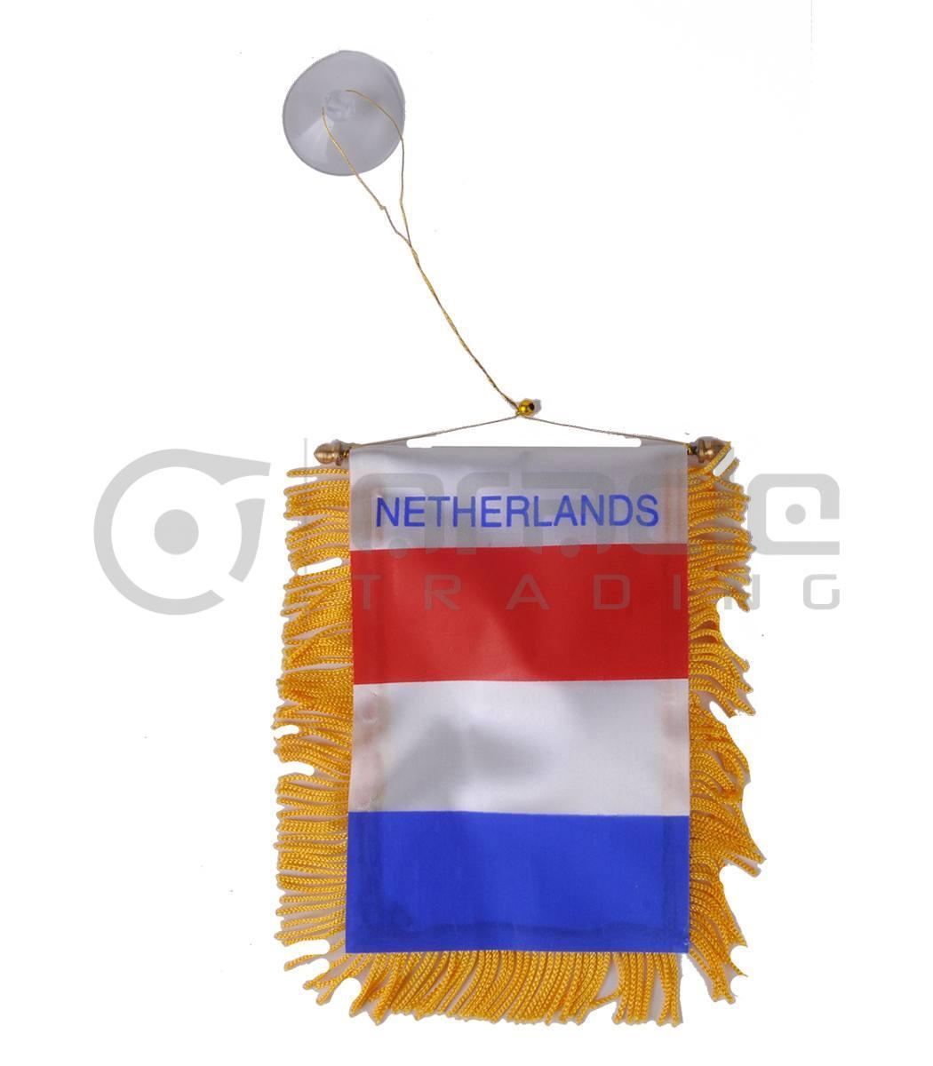 Netherlands Mini Banner (Holland)