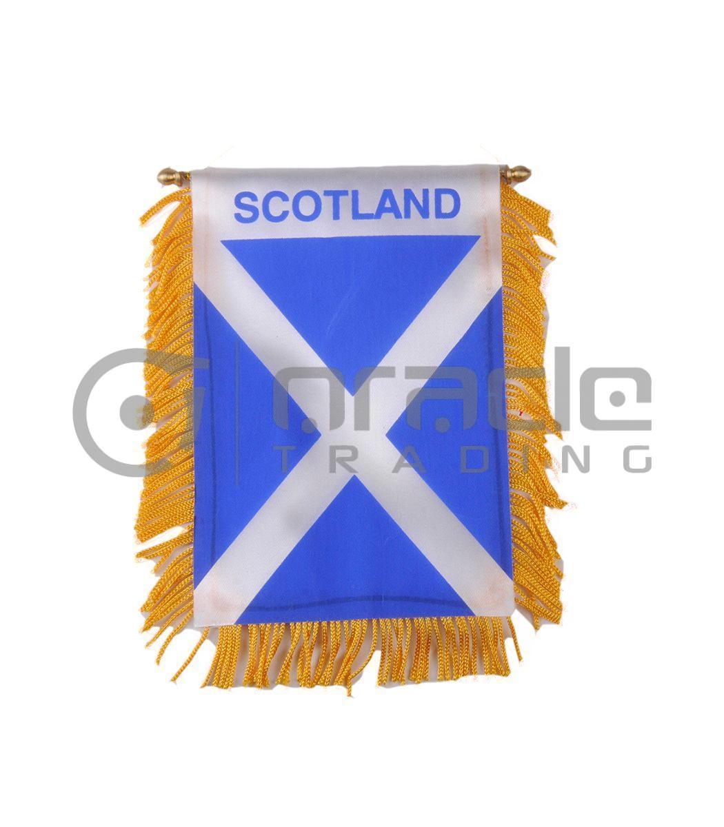 Scotland Mini Banner (St. Andrew's Cross)
