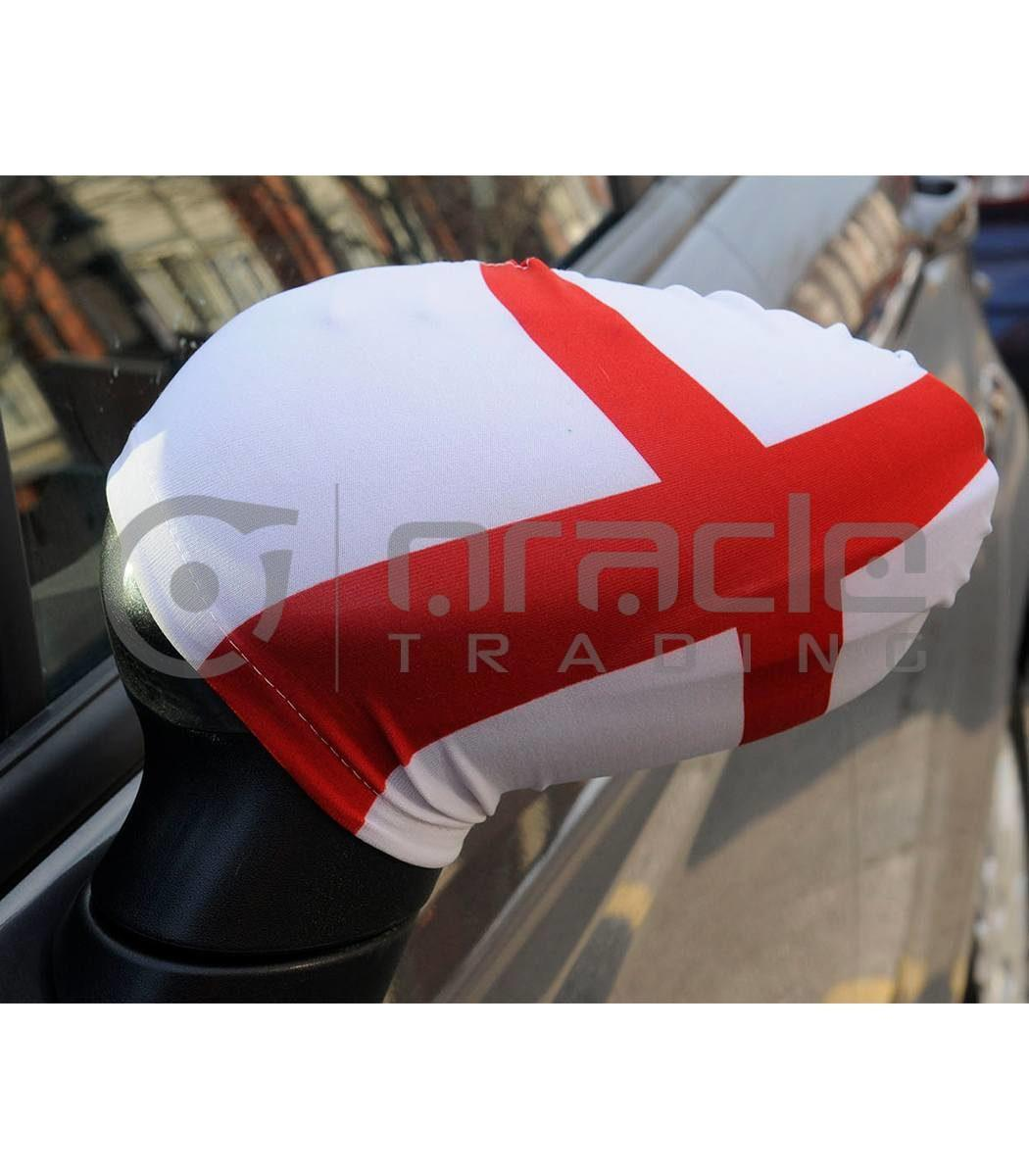 England Mirror Cover Set