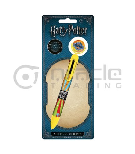 Harry Potter Weasley & Weasley Multicolour Pen