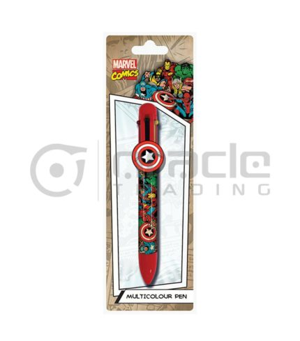 Marvel Comics Multicolour Pen