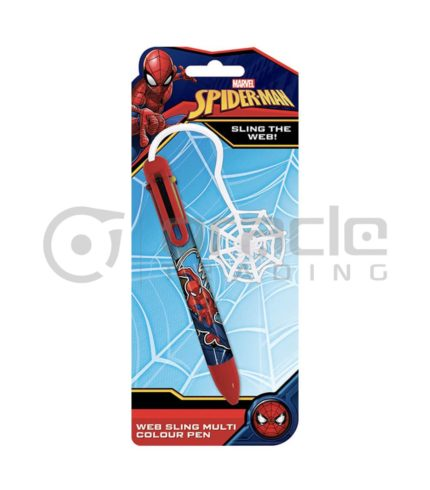 Spiderman Multicolour Pen