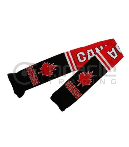 Canada Knitted Scarf