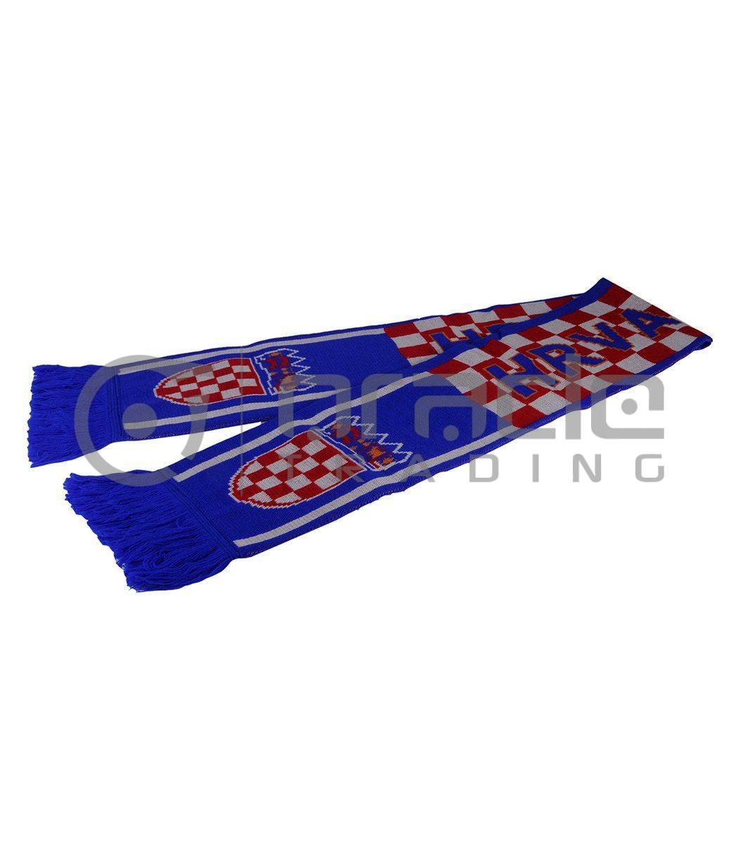Croatia Knitted Scarf