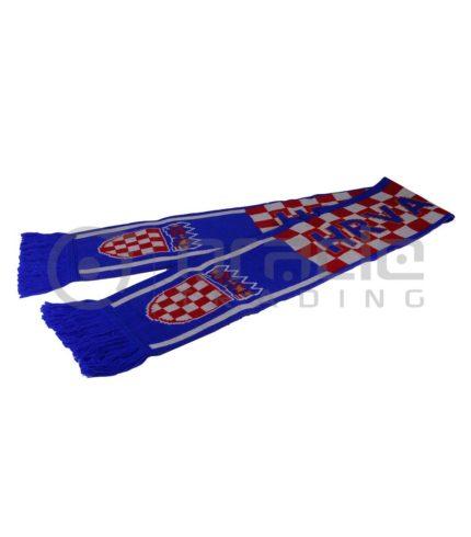 Croatia Knitted Scarf