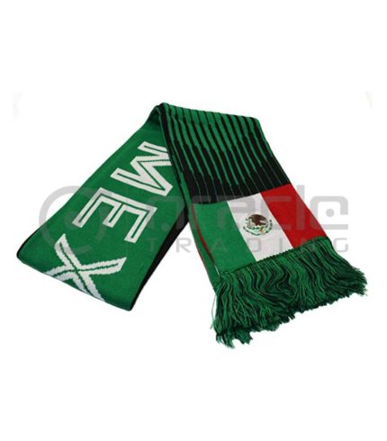 Mexico Knitted Scarf