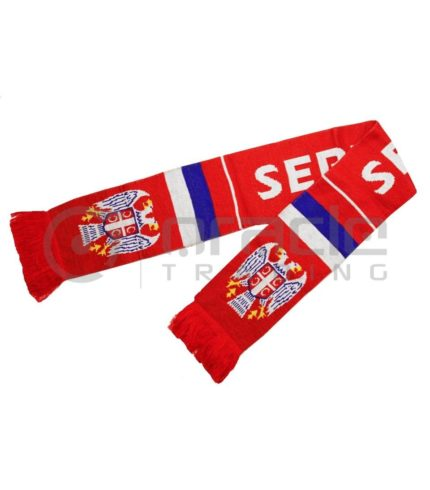 Serbia Knitted Scarf
