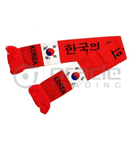 South Korea Knitted Scarf