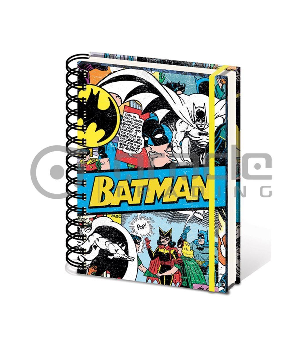 Batman Retro Notebook