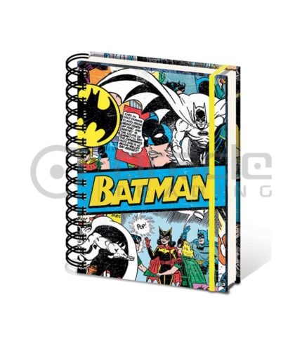Batman Retro Notebook