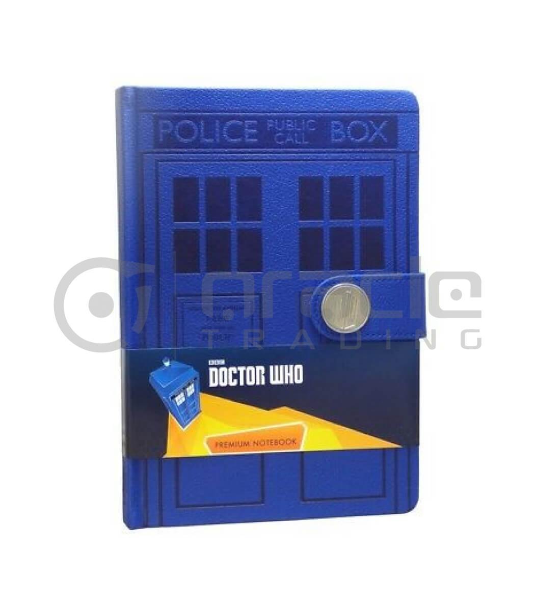 Doctor Who Notebook - Tardis (Premium)