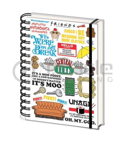 Friends Notebook - Quotes