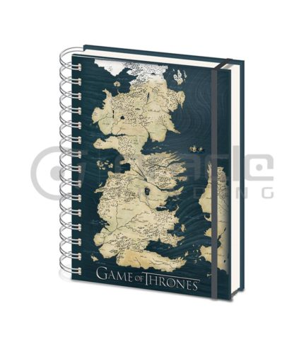 Game of Thrones Notebook - Westeros