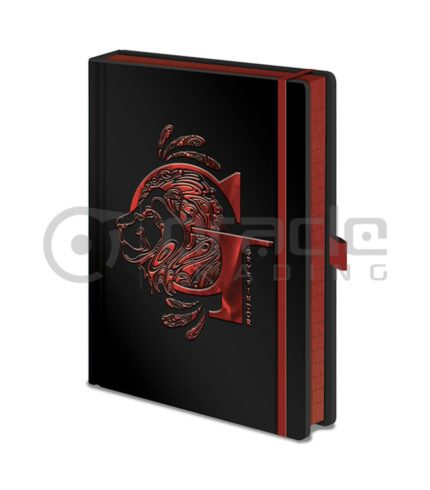 Harry Potter Notebook - Gryffindor (Premium)