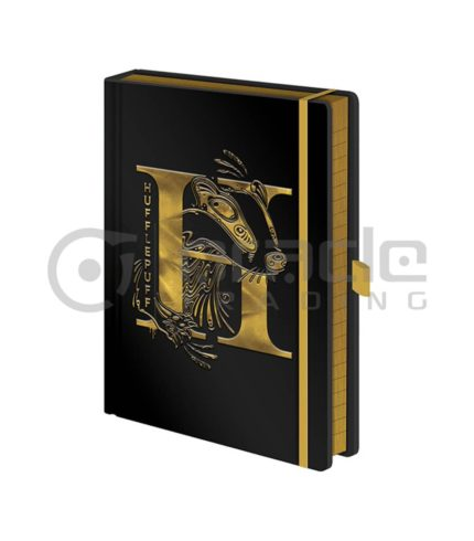 Harry Potter Notebook - Hufflepuff (Premium)