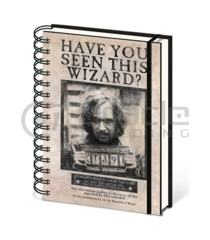 Harry Potter Sirius Black Notebook