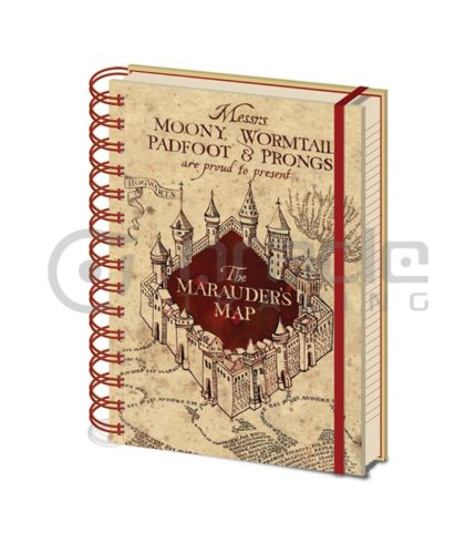Harry Potter Marauder's Map Notebook