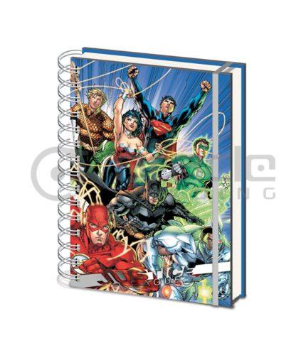 Justice League Notebook