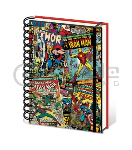 Marvel Retro Notebook 2