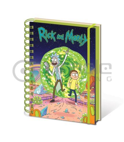 Rick & Morty Portal Notebook