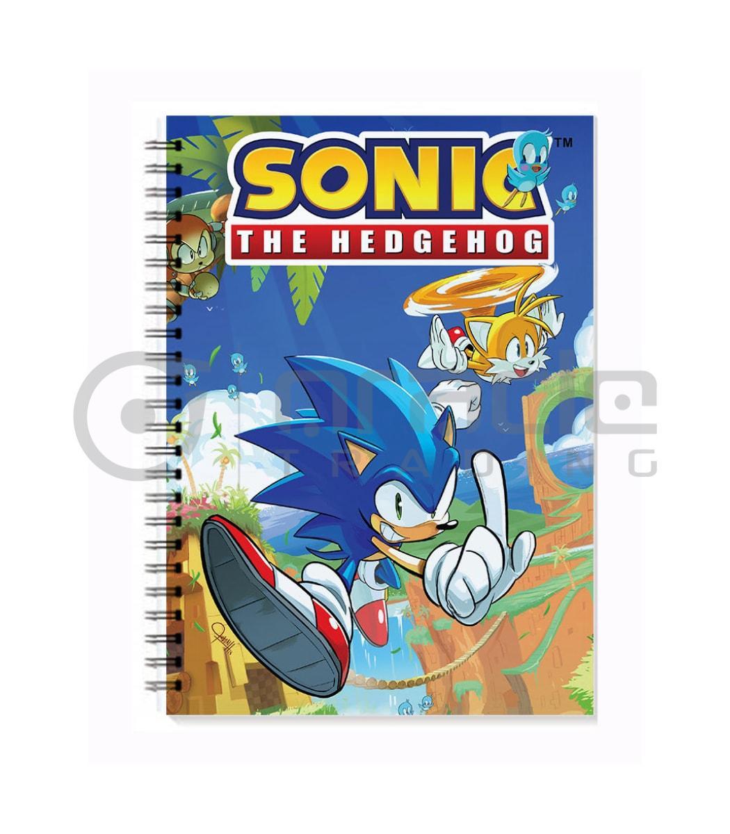 Sonic the Hedgehog Notebook - Sega