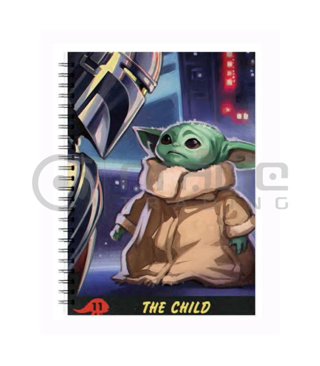 Star Wars: The Mandalorian Notebook - Comic Style
