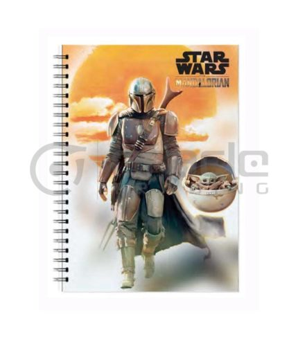 Star Wars: The Mandalorian Notebook - Sunset