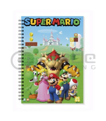Super Mario Notebook - Characters