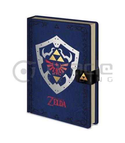 Zelda Notebook - Hylian Shield (Premium)