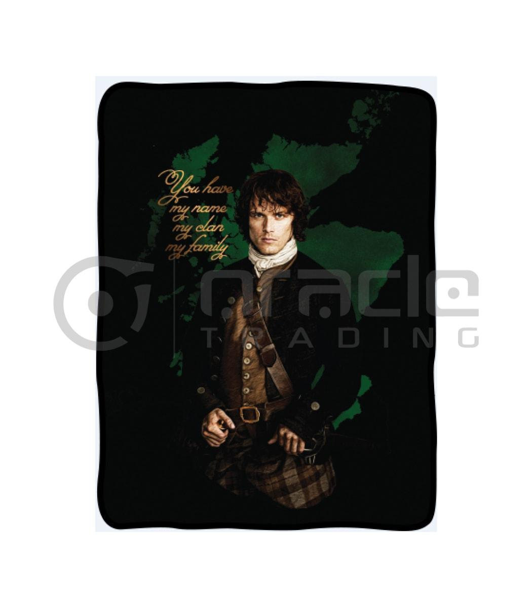 Outlander Fleece Blanket