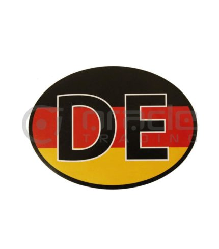 Germany Oval Decal - DE