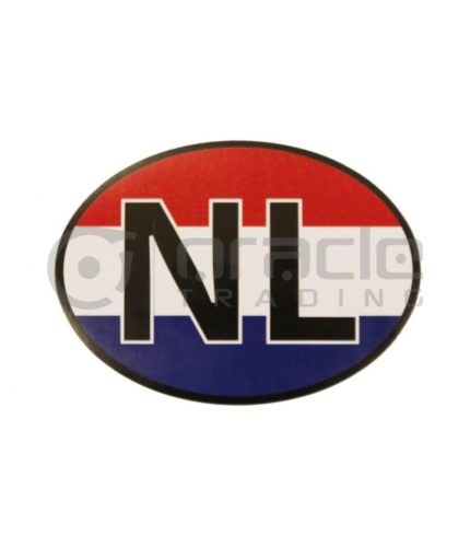 Holland Oval Decal - NL