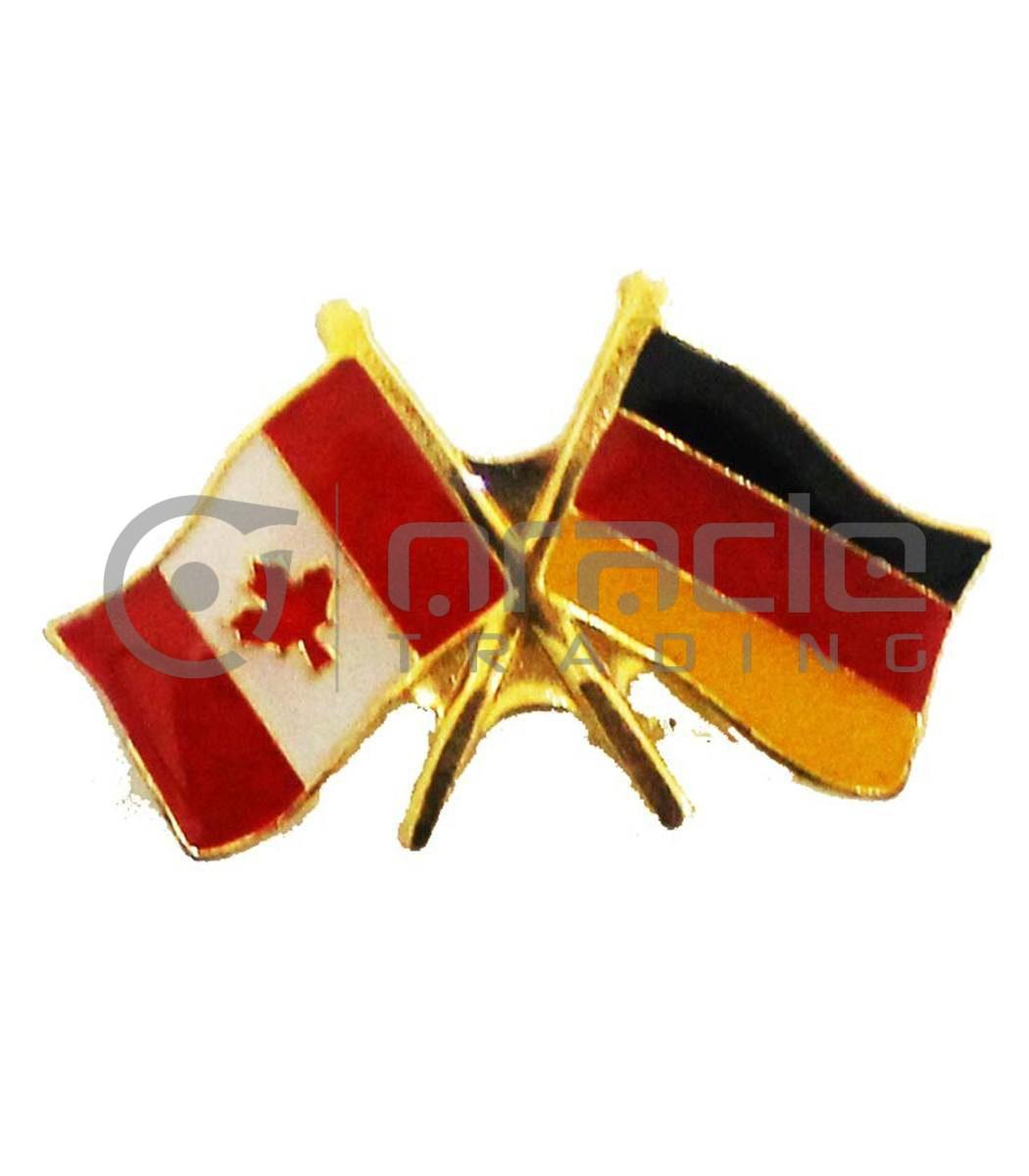 Germany / Canada Friendship Lapel Pin