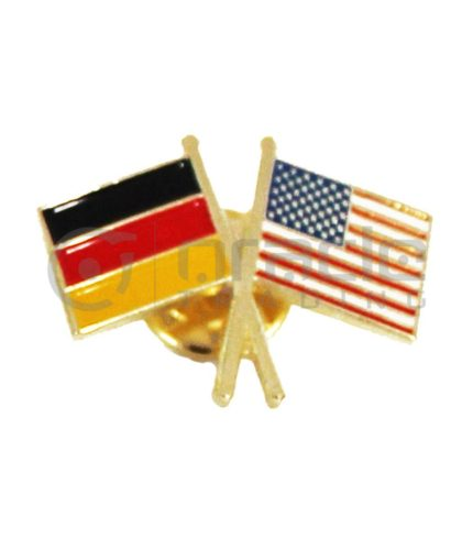 Germany / USA Friendship Lapel Pin
