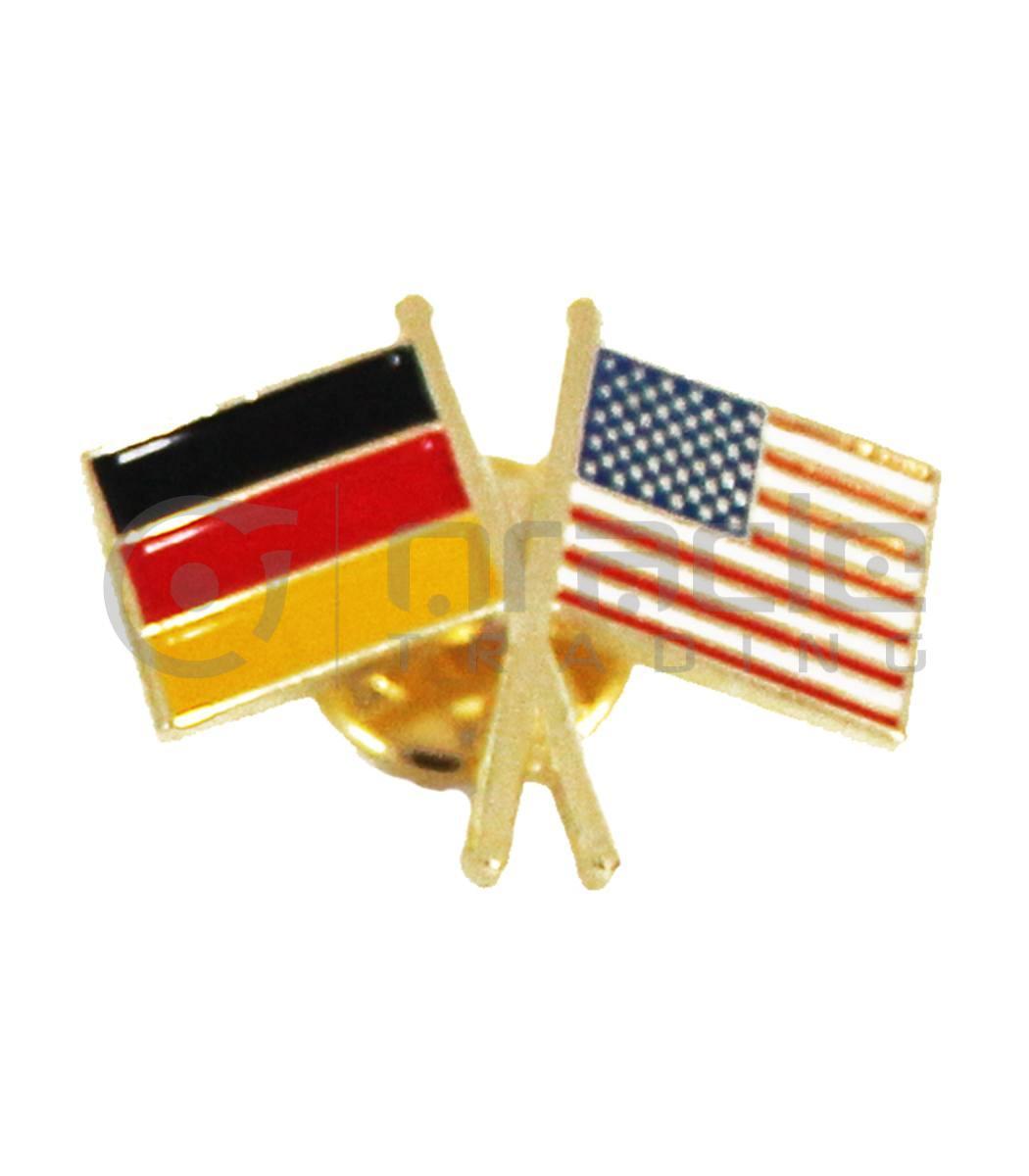 Germany / USA Friendship Lapel Pin